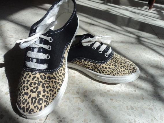 Vendo Zapatillas Nuevas Alpargatas Animal Print!!!