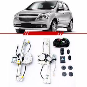 Kit Vidro Elétrico Sensorizado Chevrolet Agile 2009 A 2014