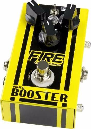 Pedal Fire Booster + Brindes - Nf E Garantia