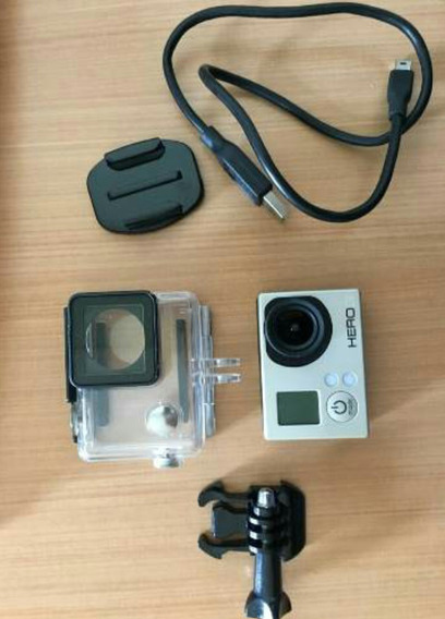 Câmera Gopro Hero 3 White Novíssimo Edidion Full Hd Wi-fi