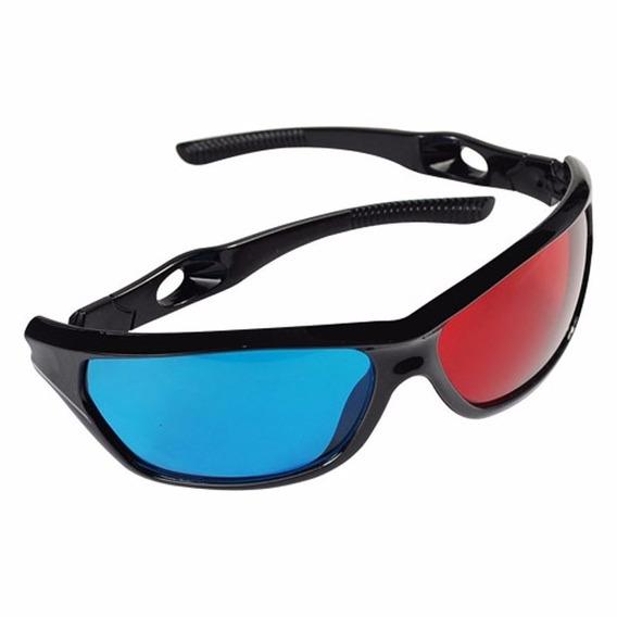 Óculos 3d Otima Qualidade 3d, Red Ciano! Cinema 3d No Brasil