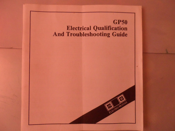 Livro Gp50 Electrical Qualification Troubleshooting Guide