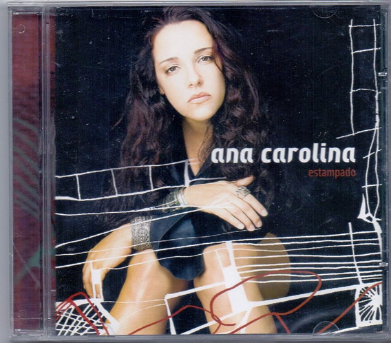 Cd Ana Carolina - Estampado - Novo***