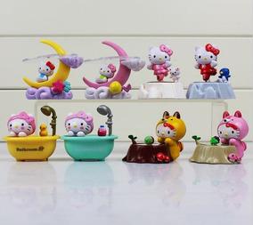 Hello Kitty 8 Bonecas Exclusivas Linda Coleção
