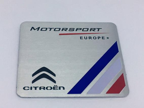 Emblema Motorsport Citroen Ds3 Ds4 Ds5 C4 C3 C5 Vtr !!!