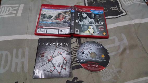 Heavy Rain Para O Playstation 3 Funcionando 100%.