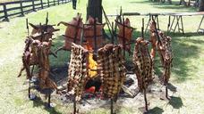 Catering Asados.parrilla, Bebida Libre Manteleria Y Vajilla,