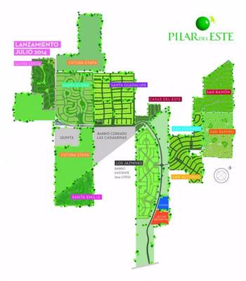 Vendo Lote Pilar Del Este - Barrio Santa Emilia