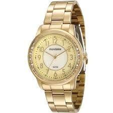 Relógio Mondaine 94810lpmvde1 Dourado Original