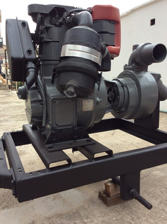 Moto Bomba Fal 4 Pol. C/ Motor Agrale M-90 12 Hp Modelo Novo
