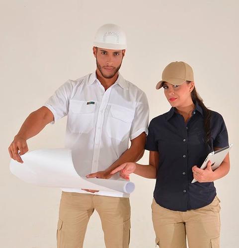 Camisa Tipo Aventura Para Empresa Bordados Textil Confección