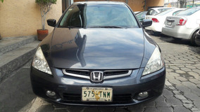 Honda Accord 4p Ex Sedan V6 Piel Abs Q/c Cd 2005