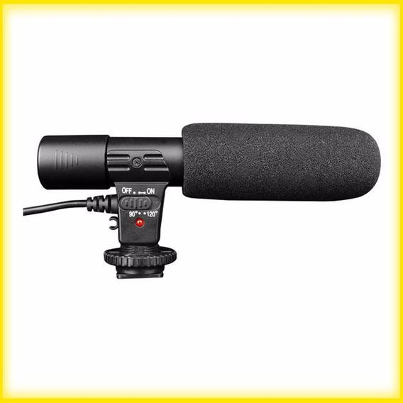 Microfone Estéreo ( Câmeras Filmadoras Dslr Nikon Canon )