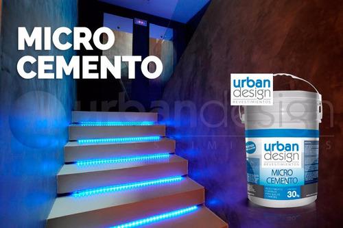 Microcemento Material Y Mano De Obra-paredes-cemento Alisado