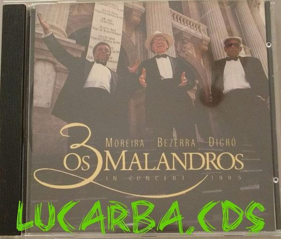 Cd - Moreira , Bezerra E Dicró - Os 3 Malandros - Lacrado