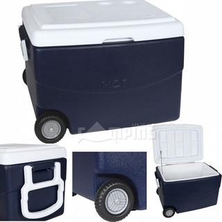 Caixa Termica Rodas Cooler Grande Rodinhas 70 Litros C/ Alça