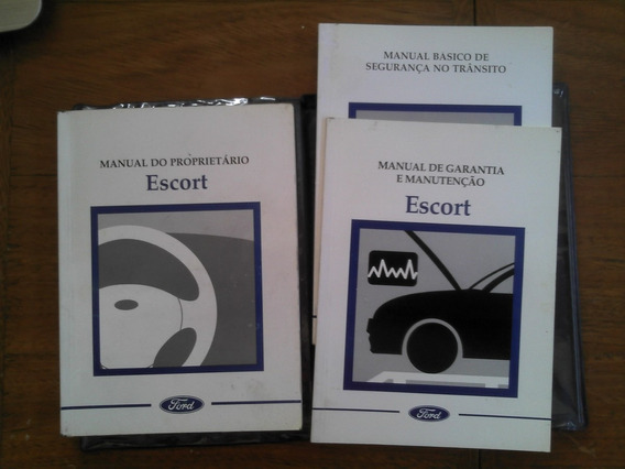 Manual Proprietário Ford Escort Sapão 2000 1999 Vtr