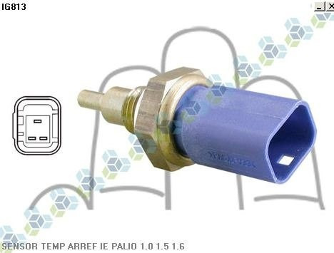 Sensor Temperatura Injeção Eletronica Palio 1.0 1.5 1.6