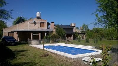 Casa Con Pileta Potrero De Garay, Los Molinos.v.g.belgrano,