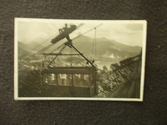 2191-postal Brasil Chegada De Carro Do Pao De Assucar 1927