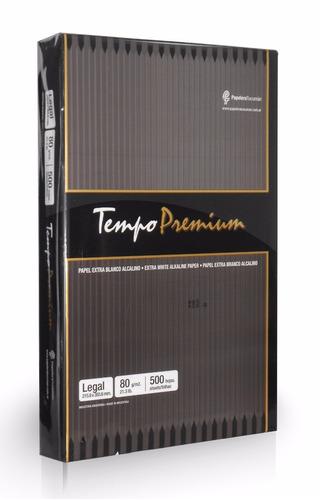 Resma Tempo Premium Legal 75 Grs  Envios Papelera Grafipel