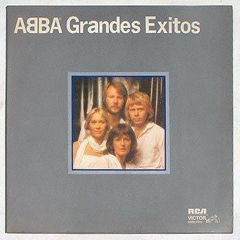 Abba Grandes Exitos Long Play Rca 1979!!
