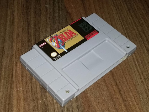 The Legend Of Zelda Original Repro Snes + Frete Gratis!!!!!