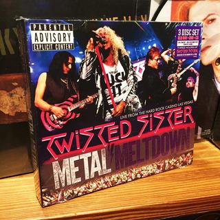 Twisted Sister Metal Meltdown Cd Dvd Blu Ray