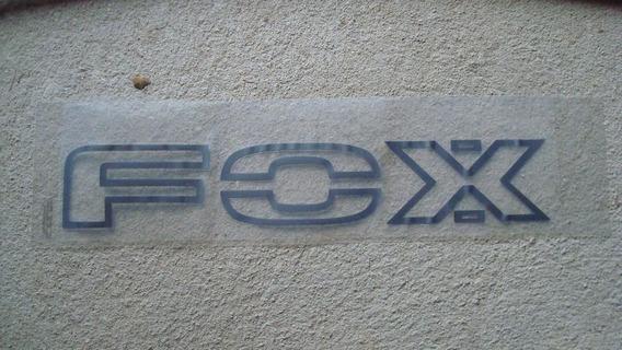 Faixa Adesivo Porta Fox Crossfox 04/10 Novo Original Vw