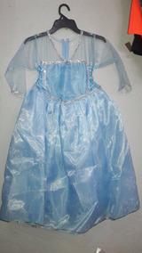 Disfraz Elsa Frozen Princesa Hielo Disney Corona