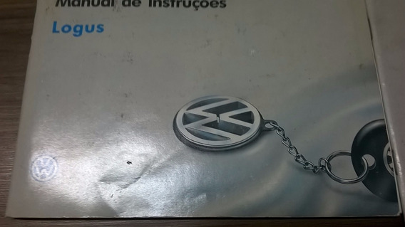 Manual Do Proprietario Vw Logus 1994 - Original