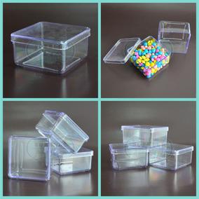 Caixinha Em Acrílico 7x7 (30 Unid) Lembrancinhas