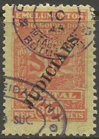 Fiscal -judiciaes - Emolumentos - Capital - 300 Reis - 10023