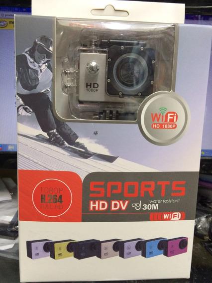 Câmera Digital Firmadora Full Hd 1080p A Prova Dágua Wi-fi