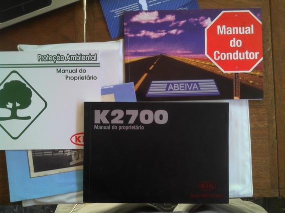 Manual Kia K2700 2005 Vtr