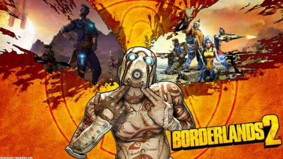 Borderlands 2 + 8 Dlcs Grátis - Chave Steam Por Email