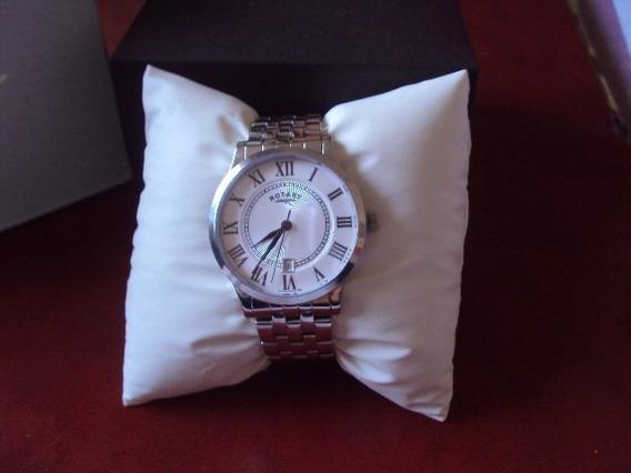 Relógio Rotary Suíço Aço