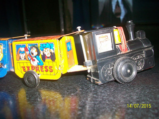 Tren Loco De Chapa A Cuerda Años 60´s