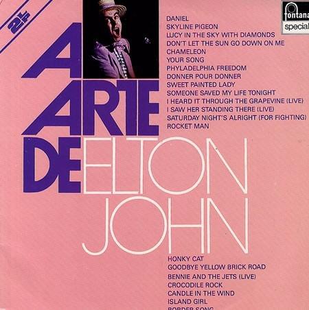 Cd A Arte De Elton John
