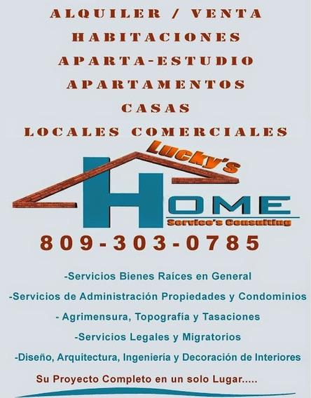 Alquiler Apartamentos En La Zona Colonial, Gazcue, Rd