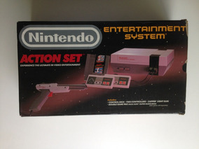 Nintendo Nes Nintendinho Action Set - Frete Gratis