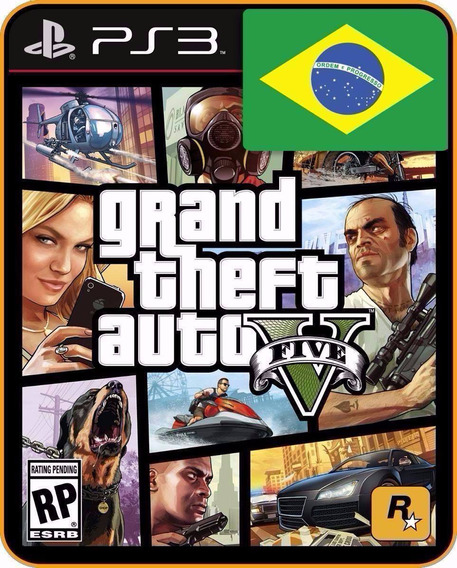 Gta 5 Portugues Ps3 Psn