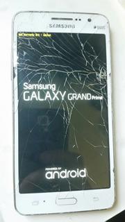 L Celular Samsung Gran Prime Duos G530 Reiniciando No Estado