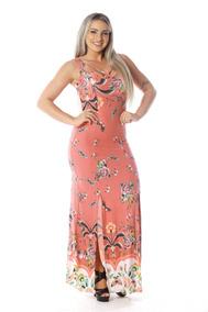 f120963c5 Vestido Clara Rosa Valour Onca - Vestidos no Mercado Livre Brasil