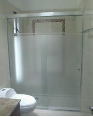 Instalacion De Puertas Para Baño Vidrio Templado Aluminio