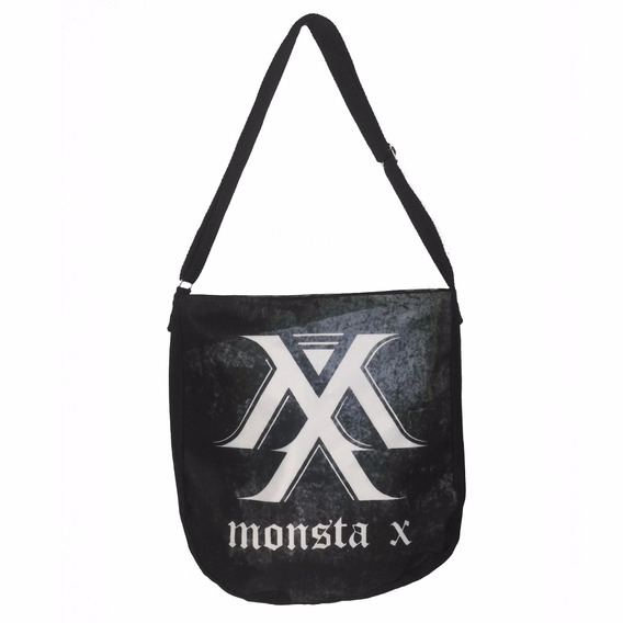 Bolsa Monsta X K-pop Escolar Mochila