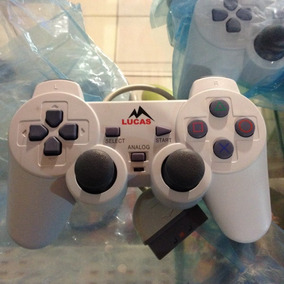 Kit 2 Controles Ps1 + 1 Memory Card Ps1 Psone Playstation