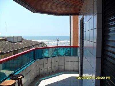 339 - Apto 03 Dormitórios Na Cidade Ocian, Praia Grande!