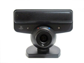 Webcam Sony Eye P/ Pc E Ps3 Original Sony - Playstation 3