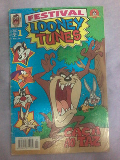 Revista Gibi Hq Festival Looney Tunes Nº 1 (1997) Ed. Abril